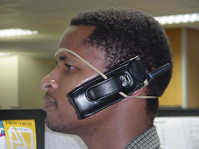 Alternative hands-free kit for Africa