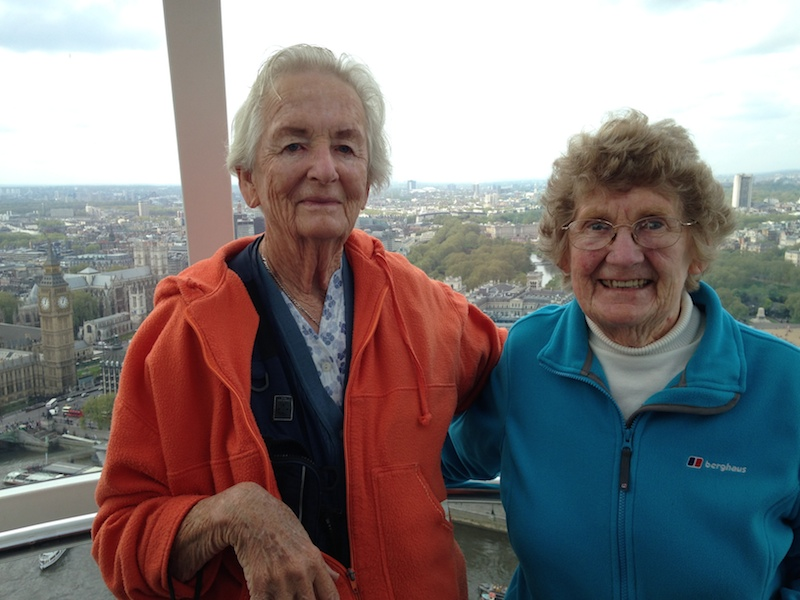 Ilse & Gladys London Eye