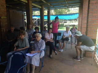 Members of the Working Breeds club of Mashonaland attending the AGM